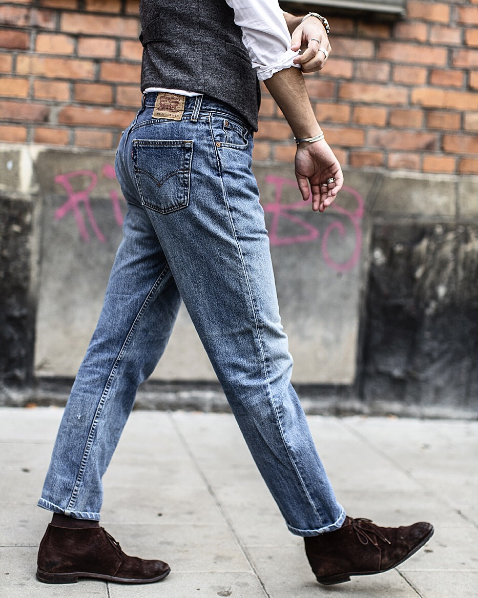 jeans i torkskåp