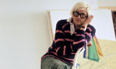 Sno sommarstilen: David Hockney