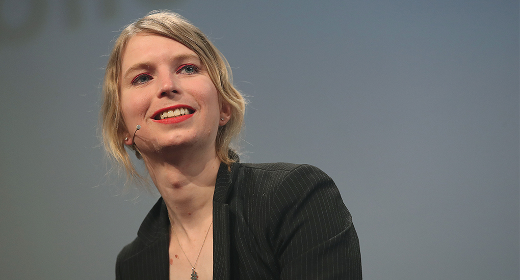 Chelsea Manning kommer till Way out west
