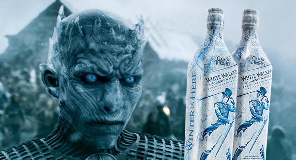 """Game of Thrones släpper whiskyn """"White Walker"""""""