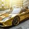 Vräkigaste bilen någonsin: En Ferrari 458 Spider i äkta guld