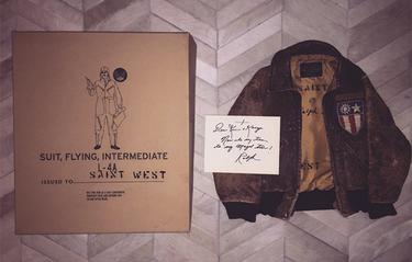 Kanye Wests bebis har redan en bättre garderob än du