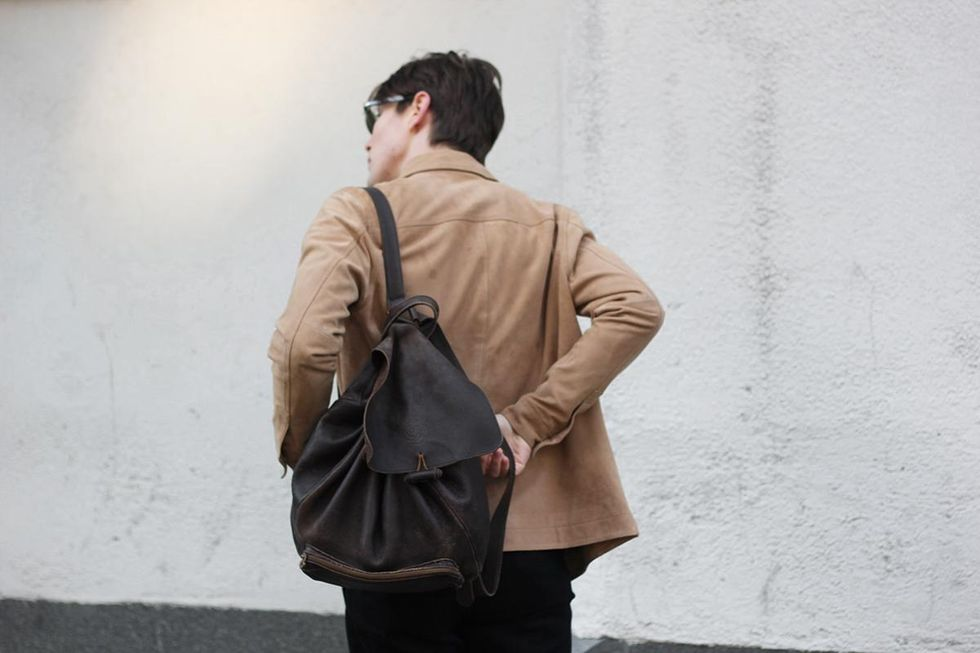 suede jacket leather back pack tobias sikstrom.jpg