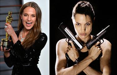 Alicia Vikander tar över rollen efter Angelina Jolie