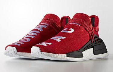"""Nu är Pharrell x adidas NMD """"Human Race"""" här – i rött"""