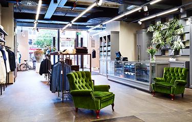 Här öppnar Holmens Herr sin första butik på 50 år