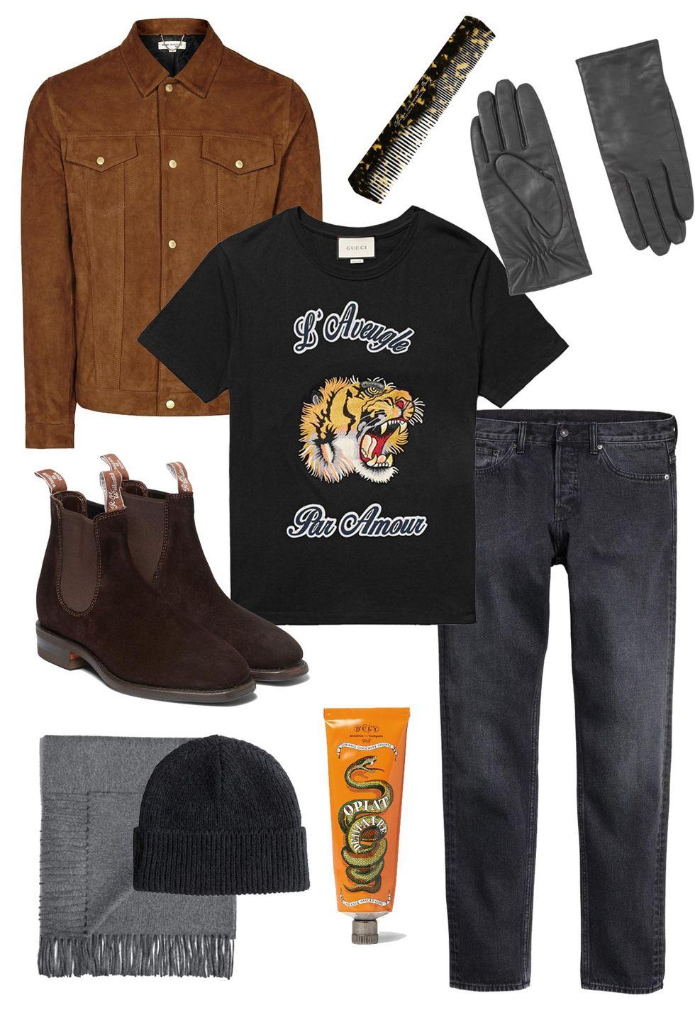 veckans shoppingtips herrmde mockajacka, boots, kam, grooming, halduk, skinnhandskar, mossa, stickat.jpg