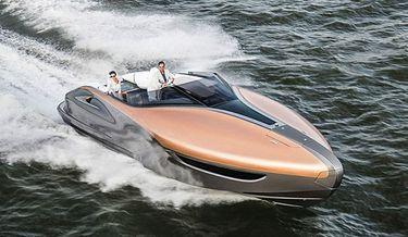 Säg hej till Lexus nya superbåt