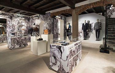 Louis Vuitton öppnar pop up-store i Milan