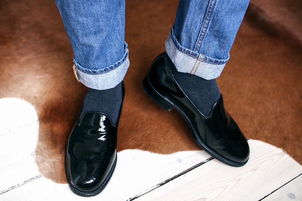 Dr Denim jeans Our Legacy loafers shoes. Tobiassikstrom.jpg